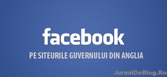 Facebook si guvernul din Anglia