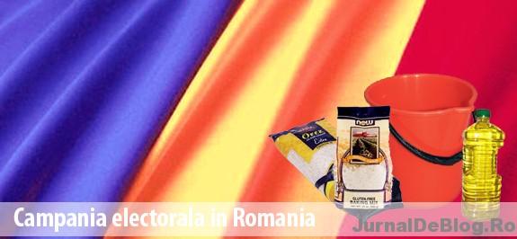 Campania electorala in Romania