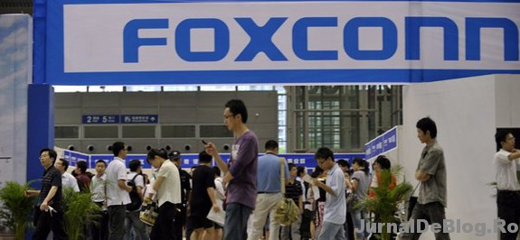 Foxconn cumpara roboti