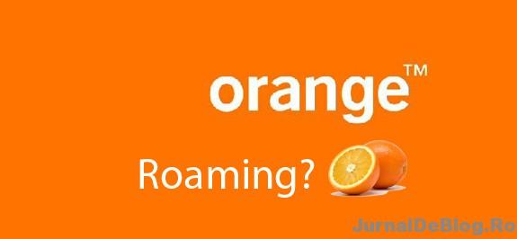 Orange are cel mai slab roaming