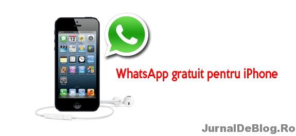 whatsapp iphone gratuit telecharger
