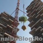 """Bosco verticale"", padurea verticala din Milano"