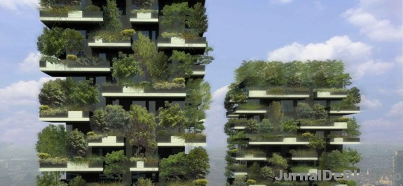 Bosco Verticale, prima padure urbana din lume