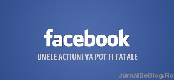 Ce e bine sa nu faci pe Facebook