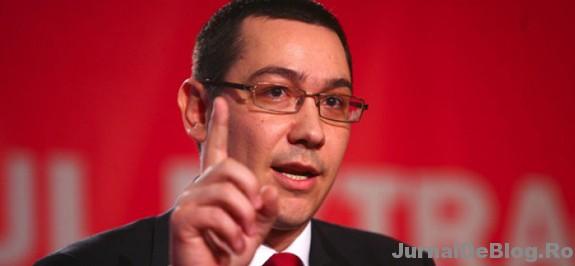 Primul ministru Ponta a avut o criza de ipocrizie.
