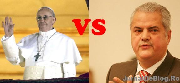 Adrian Nastase sau Papa de la Roma
