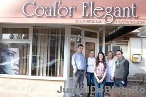 """Castigatoarea concursului """"8 Martie, timpul frumusetii"""", GrupACT si staff-ul Coafor Elegant"""