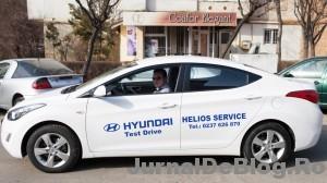 """Hyundai Elantra, masina cu care am plimbat castigatoarea concursului """"8 Martie, timpul frumusetii"""""""