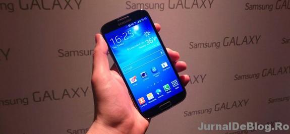 Samsung Galaxy S4 este aici! A fost lansat oficial.
