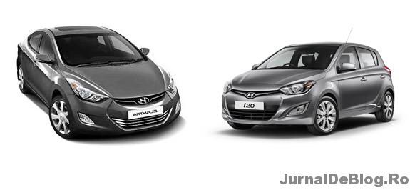 Hyundai Elantra sau Hyundai i20