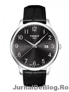 Ceas Tissot Tradition Gent Steel Black 1