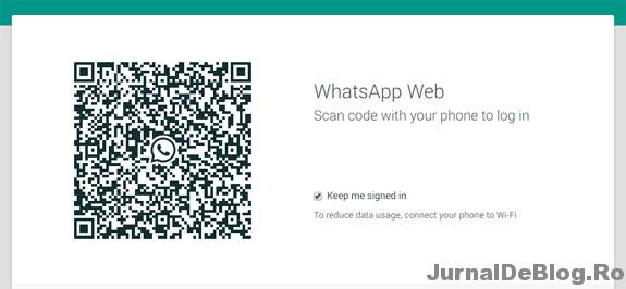 WhatsApp pentru calculator